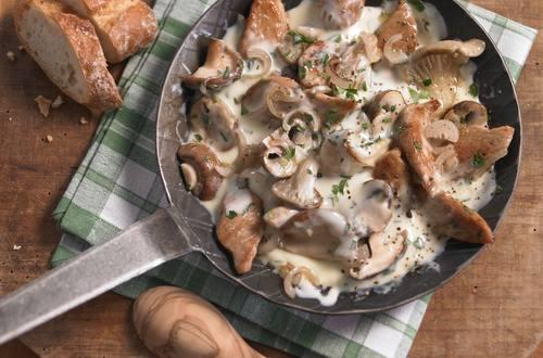 Knorr - Geschnetzeltes mit Pilzen