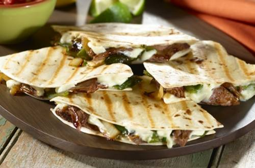 Steak & Poblano Quesadillas