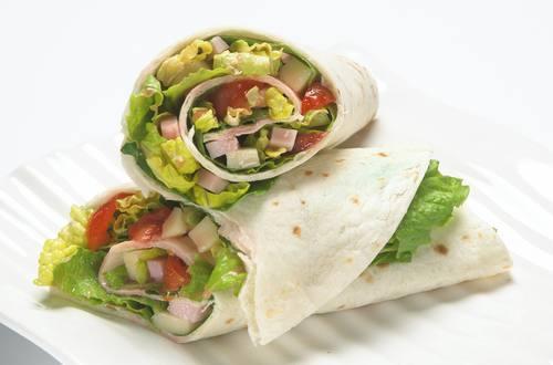 Hellmann's - Antipasti Salat Wraps