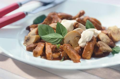 Knorr - Schweinsgeschnetzeltes mit Champignons