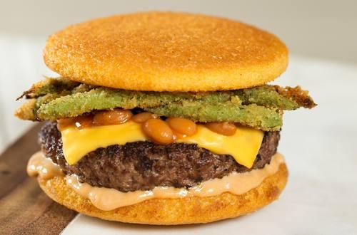 Burgers & Beans  Offsides Strangewich