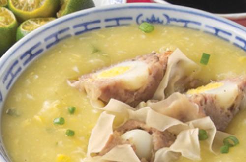 Chicken and Corn with Secret Siomai Recipe