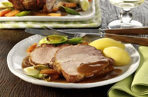 Knorr - Schweineschulter-Braten