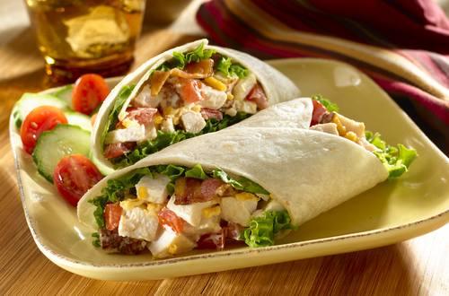 Hellmann's - Wrap à la dinde et au bacon