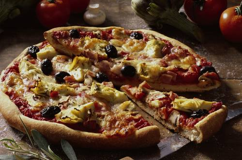 Knorr - Pizza capricciosa (Pizza nach Lust und Laune)