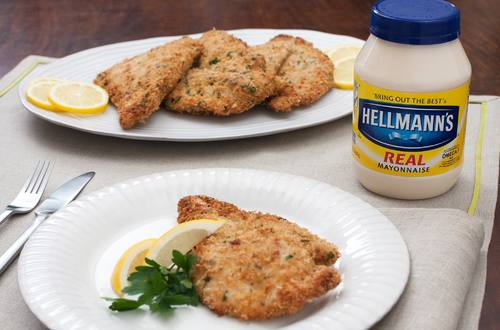 Crumb & Herb-Crusted Chicken Cutlets