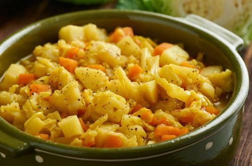Knorr - Kraut mit Kartoffeln und Karotten