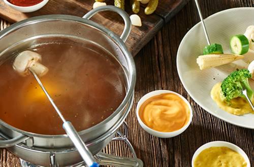 Knorr - Vegetarisches Fondue