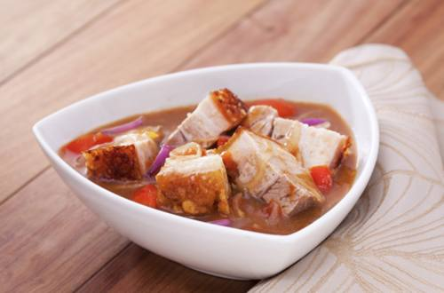 Bagnet with KBL Sinigang sa Sampalok Recipe