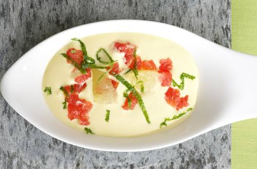 Limetten-Grapefruit-Hollandaise