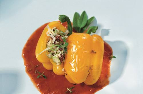 Knorr - Gefüllte Paprika vegetarisch