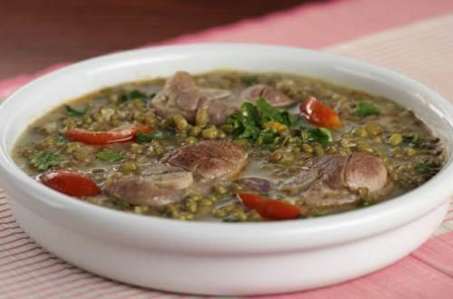 Pork Pata in Monggo Recipe