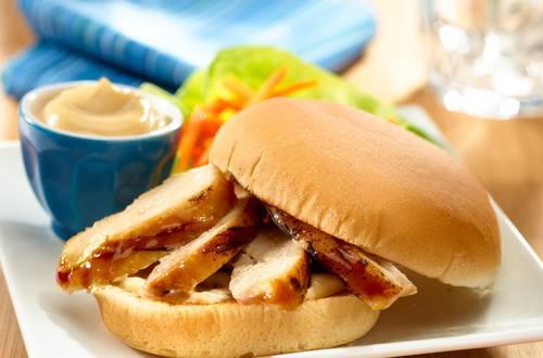 Asian Marinated Chicken Sandwich
