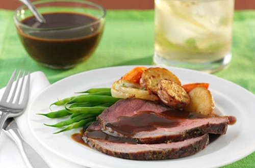 Herbed Sirloin Roast & Vegetables