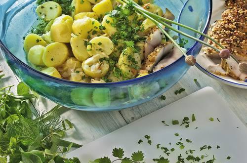 Knorr - Kartoffelsalat mit Kräuter-Dressing