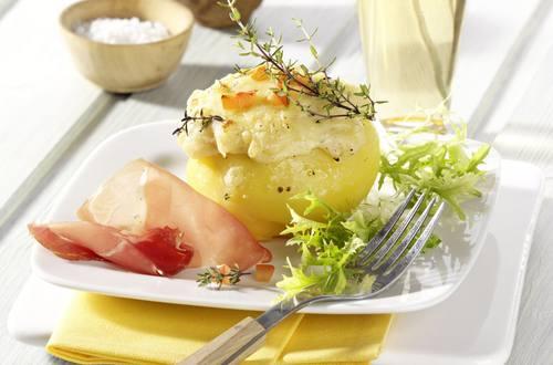 Knorr - Gefüllte Erdäpfel mit Faschiertem und Gemüse