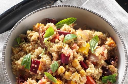 Salade de Quinoa et Légumes Grillés