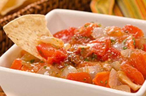 Roasted Veggie Salsa