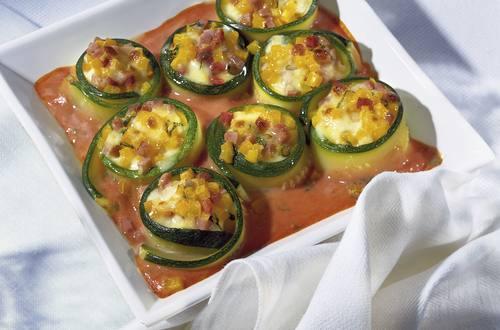 Knorr - Zucchini-Mozzarella-Gratin
