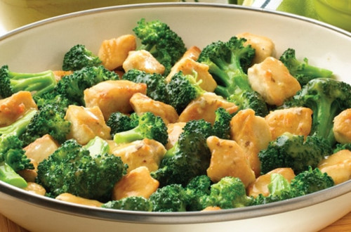 Lemon Chicken & Broccoli Saute