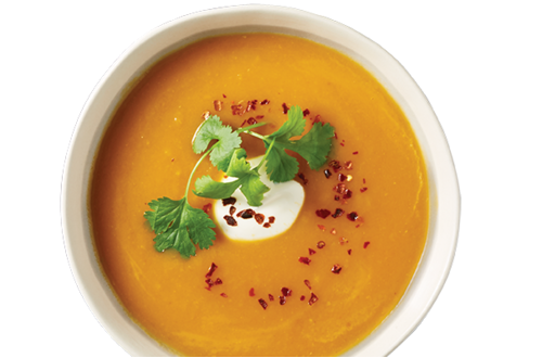 Roasted Pumpkin & Sweet Potato Soup