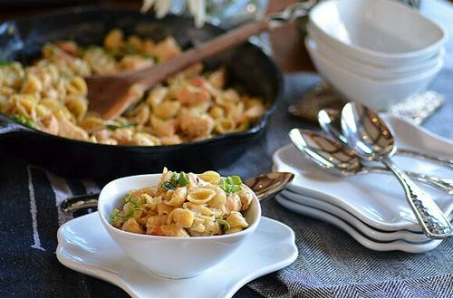 Italian Chicken & Broccoli with Shells