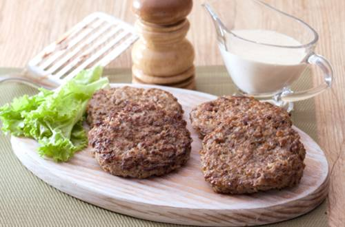 Burger with Gravy Recipe
