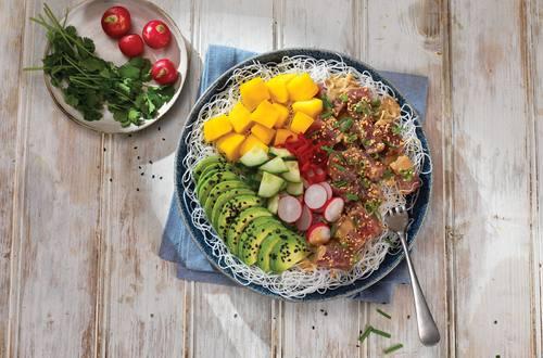 Fresh Tuna & Sushi Rice Salad