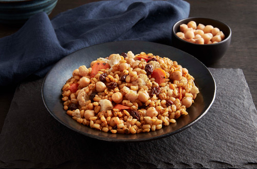 Moroccan-Style Chickpeas with Barley