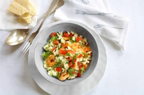 Knorr - Kräuter-Risotto mit Garnelen