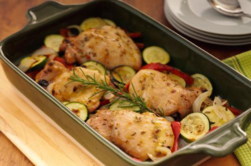 Roasted Garlic Chicken & Vegetables