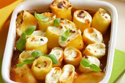 Cannelloni mit 3erlei Käse