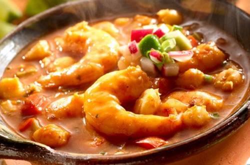 Shrimp Pozole
