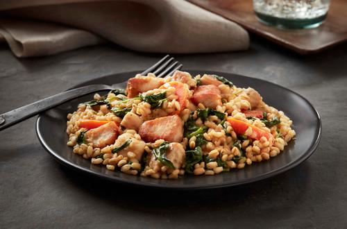 Mediterranean Lemon Chicken with Barley