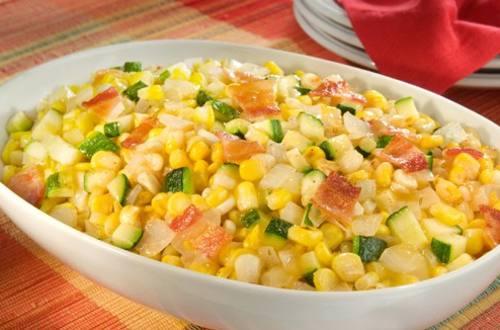Savory Corn & Onion Saute