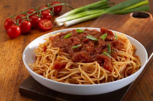 Knorr - Pasta mit feuriger Tomatensauce