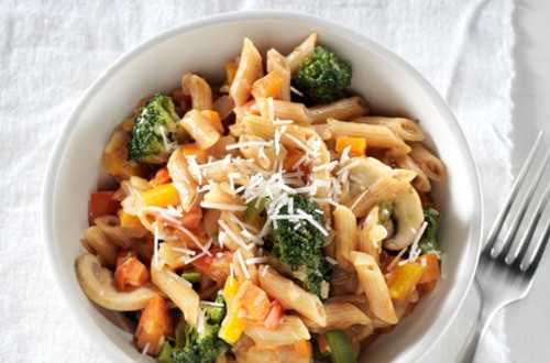Hearty Vegetable Penne