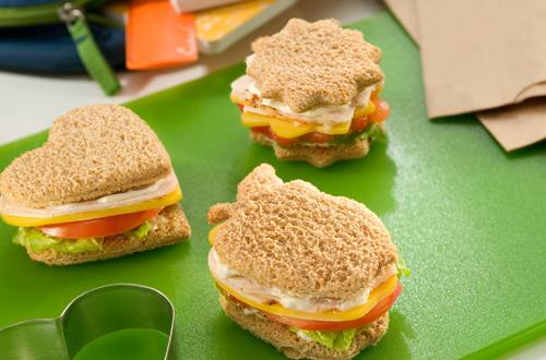 Quick and Easy Turkey Finger Sandwiches