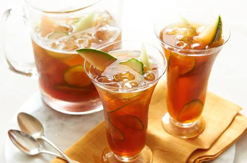Honey-Melon-Cucumber Iced Tea