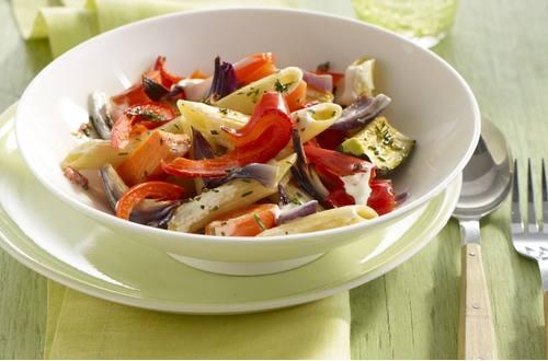 Knorr - Nudeln mit mediterranem Gemüse