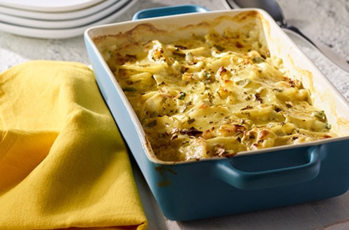Skinny Scalloped Potatoes