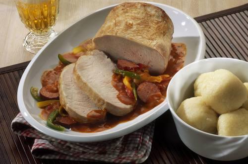 Knorr - Schweinelachs-Braten