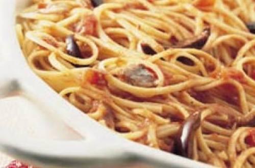 Spaghettis a la putanesca
