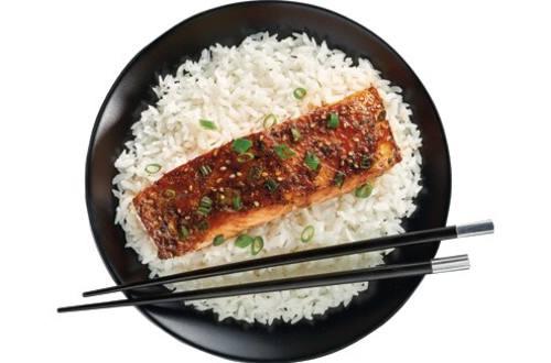 Saumon au shichimi togarashi