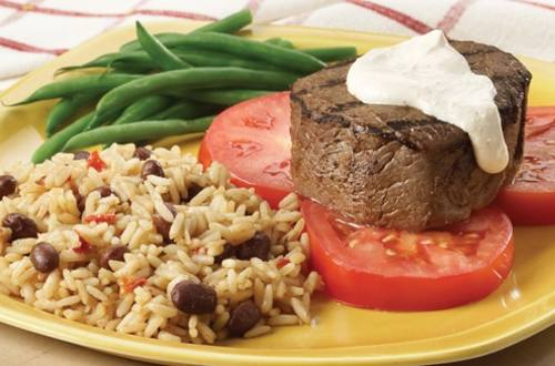 Pan Grilled Beef With Cajun Cream Sauce Knorr