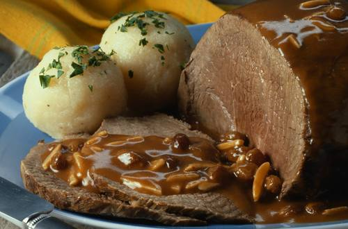 Knorr - Feiner Rinderbraten mit Portweinsauce