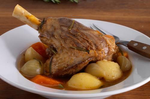 lamb shanks stockpot