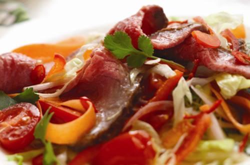 BBQ Thai Beef Salad
