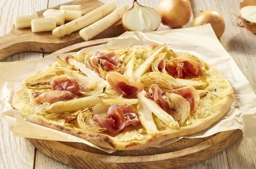 Knorr - Spargelpizza
