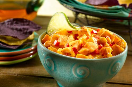 Creamy Spicy Mango Salsa